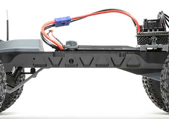 Durable nylon composite chassis