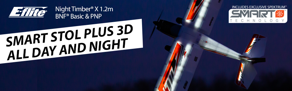 E-flite Night Timber X 1.2m