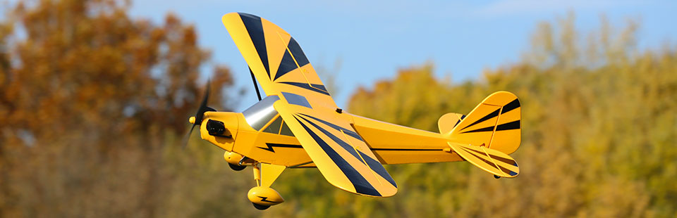 E-flite Clipped Cub BNF Basic