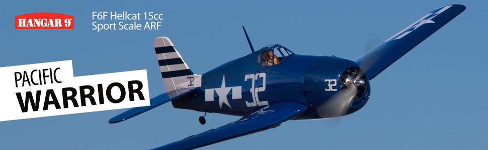 Hangar 9® F6F Hellcat 15cc Sport Scale ARF