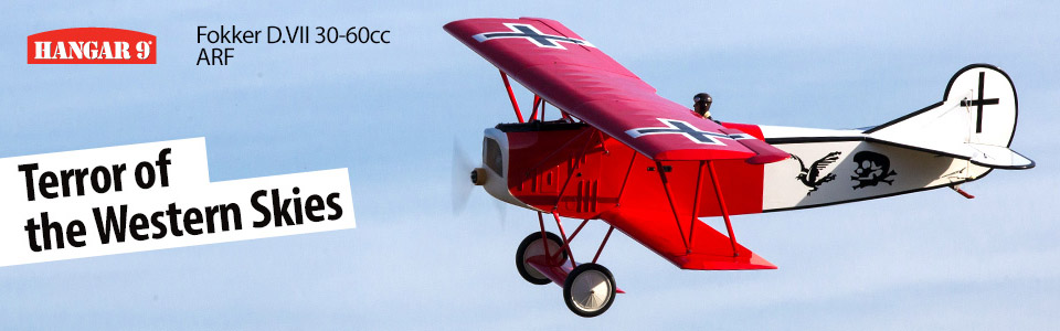 Fokker D.VII 30-60cc ARF