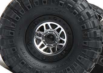 3-Piece 1.9 Beadlock Chrome Wheels