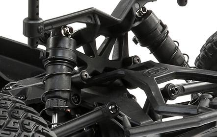 12mm Race-inspired Oil-filled Shocks