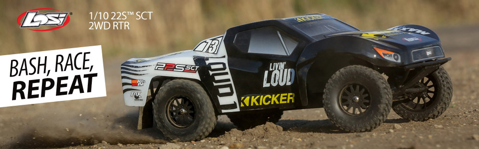 22S SCT RTR: 1/10 2WD Short Course Truck