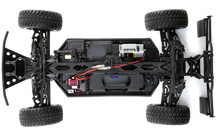 4X4 Driveline with Adjustable Differentials: