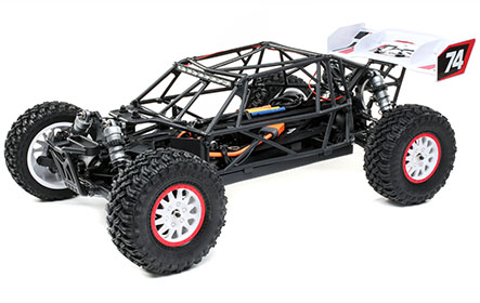 Fully Caged Chassis with Body Panels and Driver Cockpit