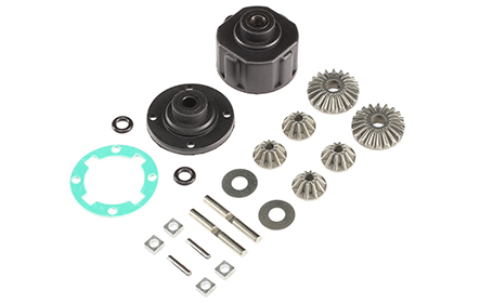 4X4 Driveline With Adjustable Differentials