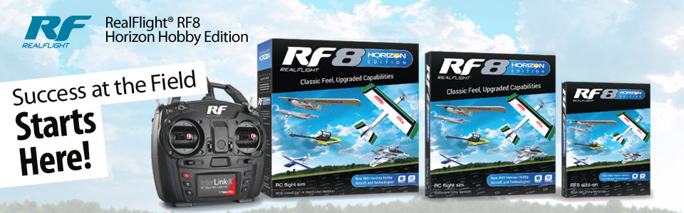 RealFlight® 8 Horizon Hobby® Edition Add-On Only