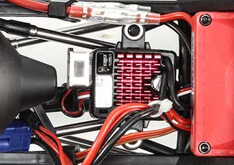 60-Amp LiPo Compatible Waterproof ESC