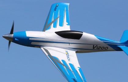 Plug-N-Play representative airplane flying