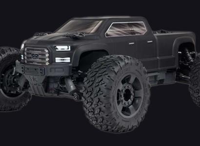 1/10 BIG ROCK CREW CAB 3S BLX RC Monster Truck