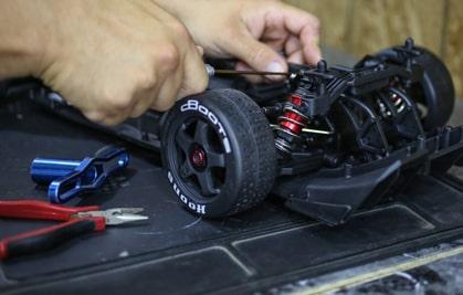 RC No Prep Drag Racing Pit Equipment
