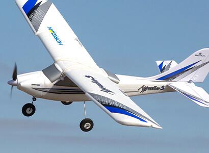 HobbyZone Apprentice S 2 1.2m RTF in flight glamour shot
