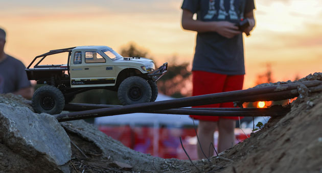 RC Fest 2021 lifestyle shot of crawler try me