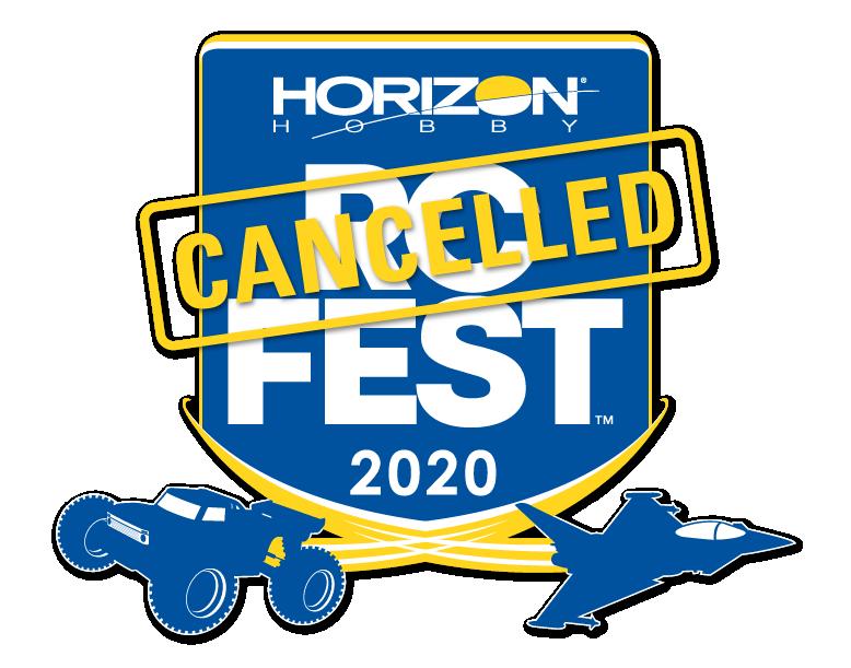 Horizon Hobby RC Fest Cancelled 2020 Logo