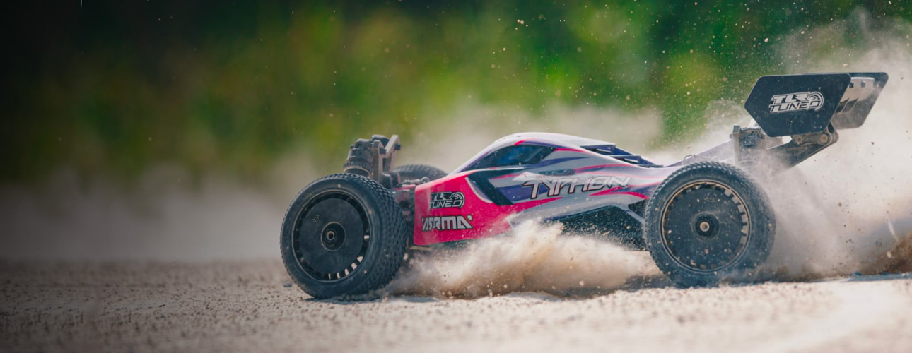 ARRMA 1/8 TLR Tuned TYPHON Roller Buggy