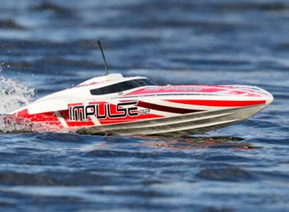 "Pro Boat Impulse 32"" Brushless RTR Remote Control Boat"