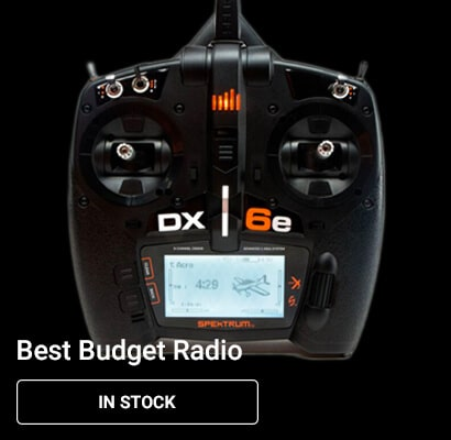 Spektrum DX6e Budget Radio