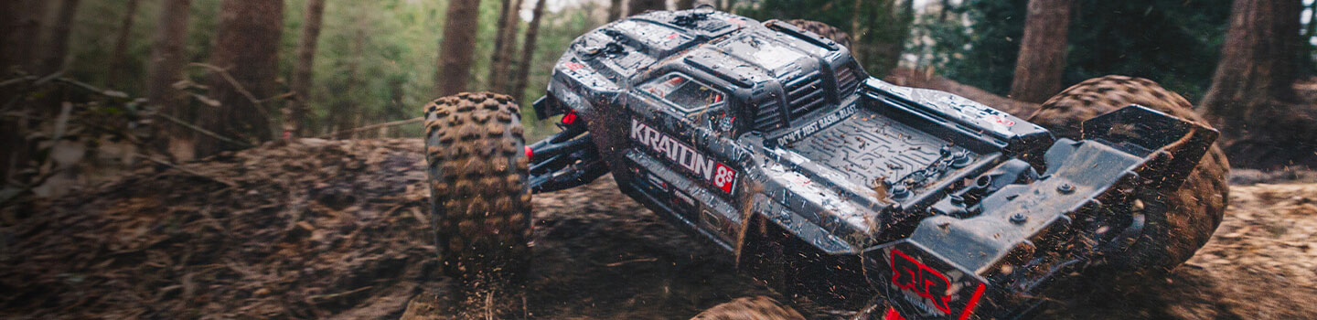 KRATON 1/5 4WD EXtreme Bash Roller Speed Monster Truck