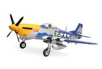 P-51D Mustang 1.5m product shot