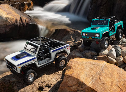 Axial 1/10 SCX10 III Early Ford Bronco 4WD Rock Crawler RTR