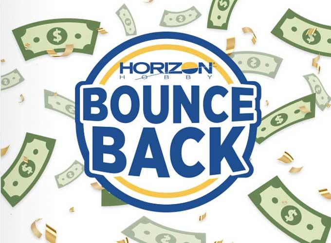 Horizon Hobby Bounce Back Promotion Logo/Image