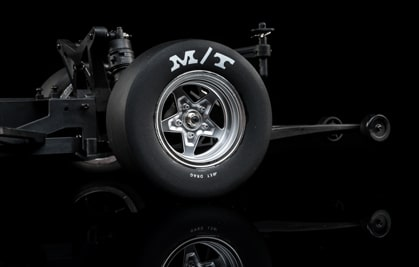 RC No Prep Drag Racing Scale Tires & Wheels