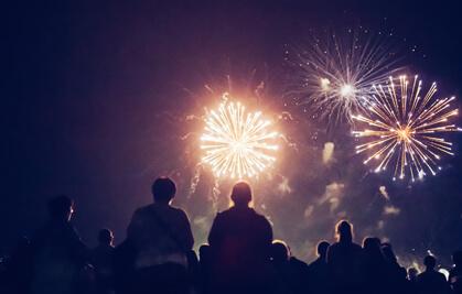 Saturday Night Fireworks
