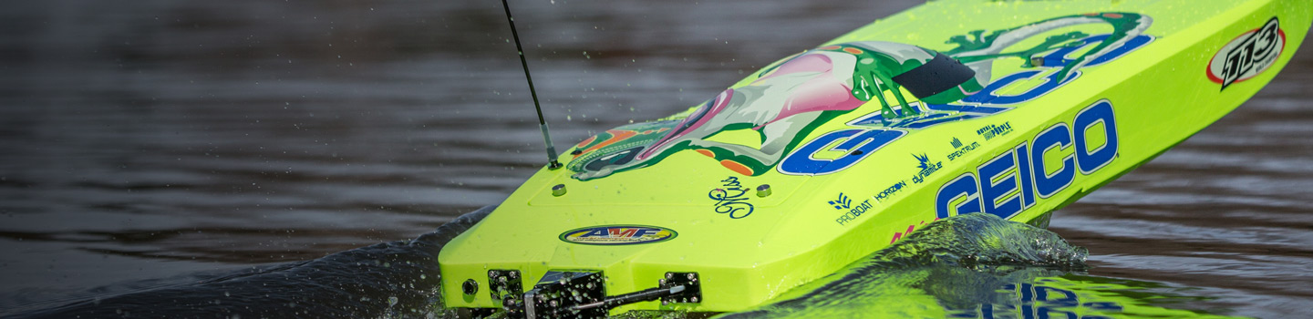 Electric RC Boats Category Image